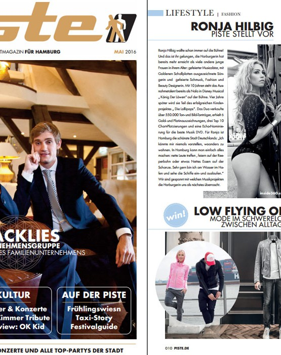 Schmuck made in Hamburg - Magazin Piste