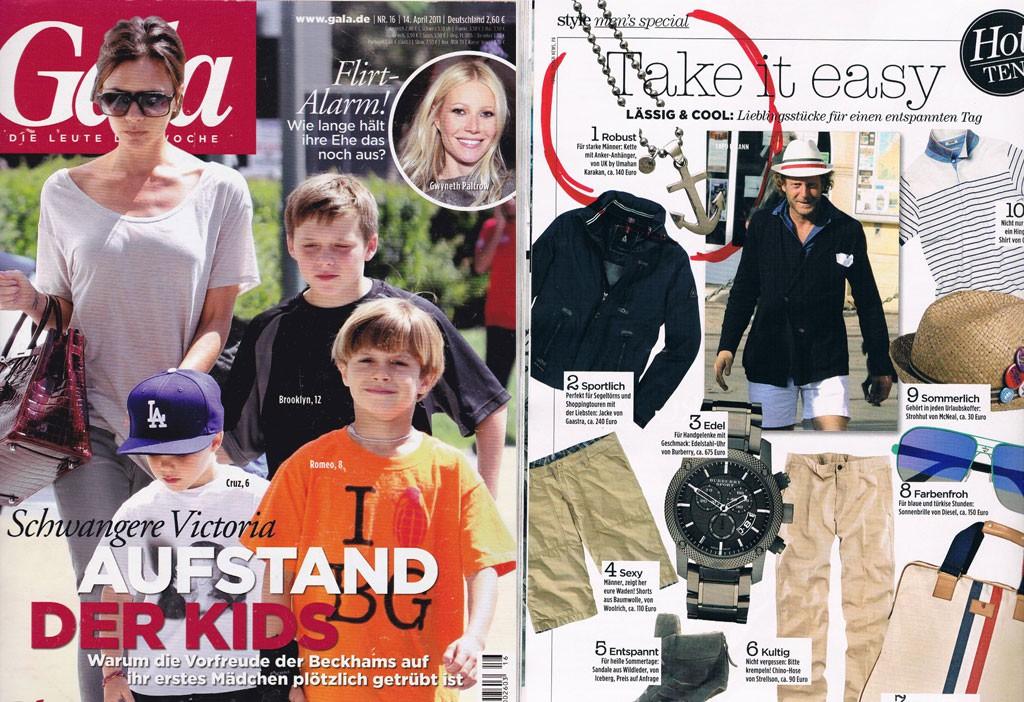 Ausgabe: April 2014 - Kette mit Anker-Anhänger