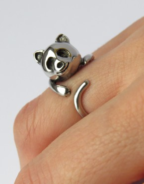 Ring Kitty Cat Ansicht