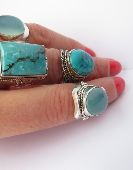 Ring blau Kombi