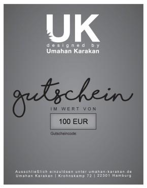 Gutschein 100 € Umahan Karakan