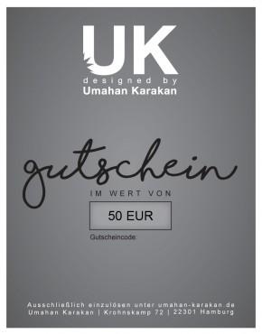 Gutschein 50 € Umahan Karakan
